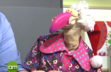 Dustin the Turkey made a gas return to television to discuss his new book on Saturday AM