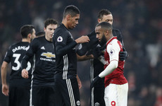 Chris Smalling: Arsenal couldn't handle Man United's two-man attack
