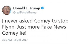 'Just more fake news covering another Comey lie': Trump in war of words over ex-FBI chief he fired