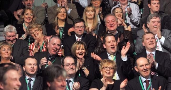 Familiar faces: day two at Fianna Fáil's Ard Fheis