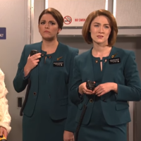 Irish people aren't a bit happy with the Aer Lingus sketch Saoirse Ronan did on SNL