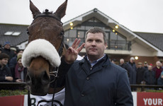 Irish trainer Gordon Elliott makes history at Fairyhouse with clean sweep of Grade One wins