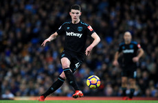 David Moyes praises Irish teen Declan Rice but also acknowledges his inexperience after loss
