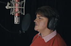 Listen to Arlene Foster belt out a classic Mariah Carey festive tune for charity