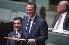 Australian MP proposes during same-sex marriage debate in House of Representatives