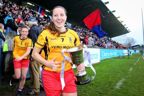Dunboyne captain Annie Moffatt.