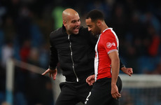 Guardiola 'reminded of responsibilities' but avoids action for Redmond exchange