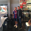 Barca director apologises after images leak showing target posing with him in club colours