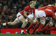 Wales scrum-half Davies to swap boyhood club Scarlets for Ospreys