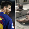 Vandals destroy Messi statue for the second time this year