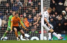 Five-star Fulham pile more misery on Wolves