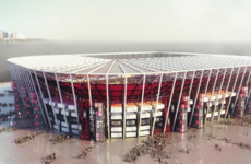 A stadium made of containers will be constructed for the 2022 World Cup
