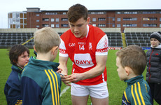 Con O'Callaghan scored 15-63 this year, but the Cuala manager says he'll only get better