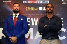 Tony Bellew's rematch with David Haye fixed for May in London