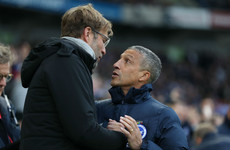 'I can only apologise': Klopp reveals Salah mix-up caused Hughton handshake spat