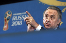 2018 World Cup tainted as chair Vitaly Mutko gets lifetime Olympics ban but Fifa say little