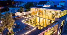 This glass-fronted €3.5m Dalkey home has its own rooftop observatory