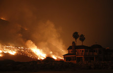 California struck by devastating wildfires as flames creep towards renowned art gallery