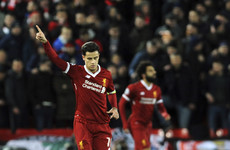 The Magnificent Seven: Liverpool demolish Spartak as Coutinho scores first Reds' hat-trick
