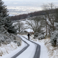 Snow-ice warning issued for entire country, widespread wintry showers tonight