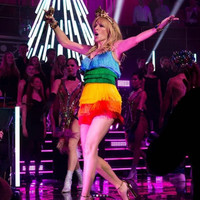 Kylie Minogue is really leading the celebrations after Australia passed its marriage equality law