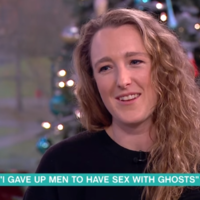 Philip and Holly spoke to a guest on This Morning who claims that she has sex with ghosts