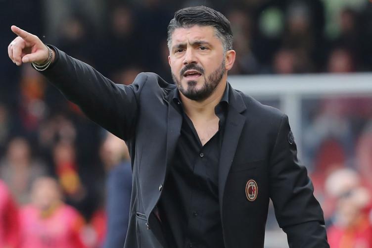 AC Milan manager Gennaro Gattuso
