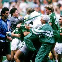 It's official: David O'Leary's penalty at Italia '90 has been voted Ireland's Greatest Sporting Moment