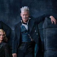 JK Rowling has defended Johnny Depp's casting in the Fantastic Beast films