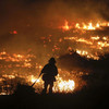 'I didn't know if we'd make it': Homes and horses burned as 200,000 flee wildfires in California