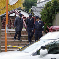 Former priest wielding a samurai sword kills three at Tokyo shrine