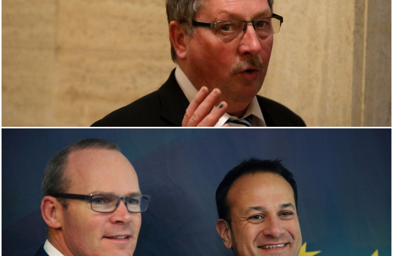 DUP's Sammy Wilson in scathing attack on 'cynical, aggressive and green'  Varadkar and Coveney