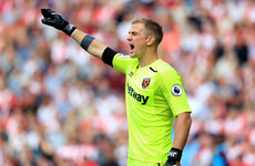 Moyes set to drop England goalkeeper Hart