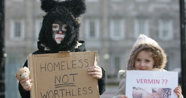In pictures: cat protest takes place outside the Dáil