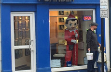 A life-size Elf On The Shelf has been running amok in Malahide
