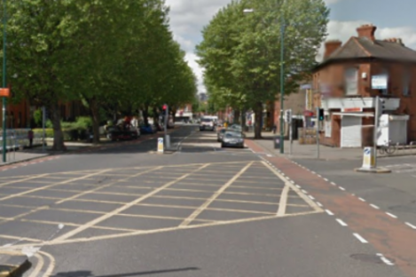 The junction where the crash took place.