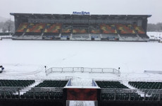 Saracens-Clermont falls foul of the weather, but Ulster and Leinster games to go ahead