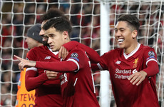 Klopp springs major surprise by resting Coutinho and Firmino for Merseyside derby