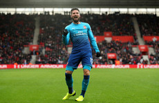 Super-sub Giroud strikes late to rescue Arsenal at Southampton
