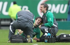 Bad blow: O'Connell and Murray ruled out for rest of Six Nations