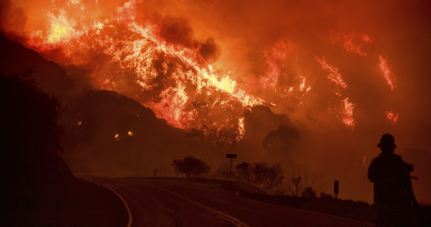 Photos: California wildfire only 15% contained and threatening Santa Barbara