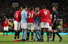Mourinho: Herrera denied clear penalty in Manchester derby defeat