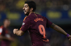 Suarez and Messi restore five-point La Liga lead as Barca see off Villarreal