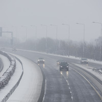 Warnings of treacherous road conditions as country wakes up to a freezing cold morning