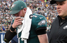 Carson Wentz ruled out for season as the Eagles' Super Bowl hopes are dashed