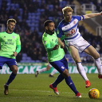 Paul McShane hits the bar in stoppage-time as Premier League-chasing Cardiff steal draw at Reading