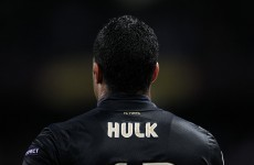 Hulk kicks the ball harder than you've ever seen before*