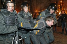 Hundreds arrested in Moscow at anti-Putin protest