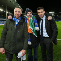 These two Irish Everton fans finally got to meet Seamus Coleman after he donated €2000 to get them to a game