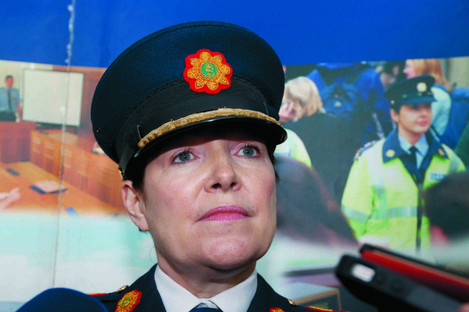Nóirín O'Sullivan stepped down from the role of commissioner in September.